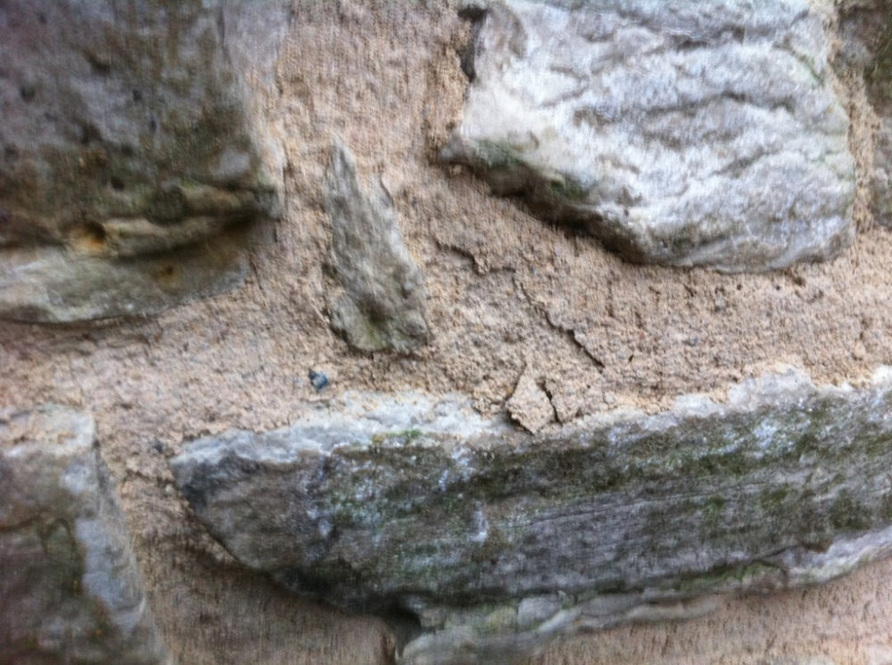 Frozen Lime Mortar
