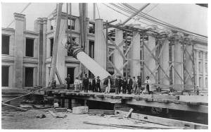 US Treasury Department Building under construction, ca. 1867 - Image courtesy of the Library of Congress, Washington DC